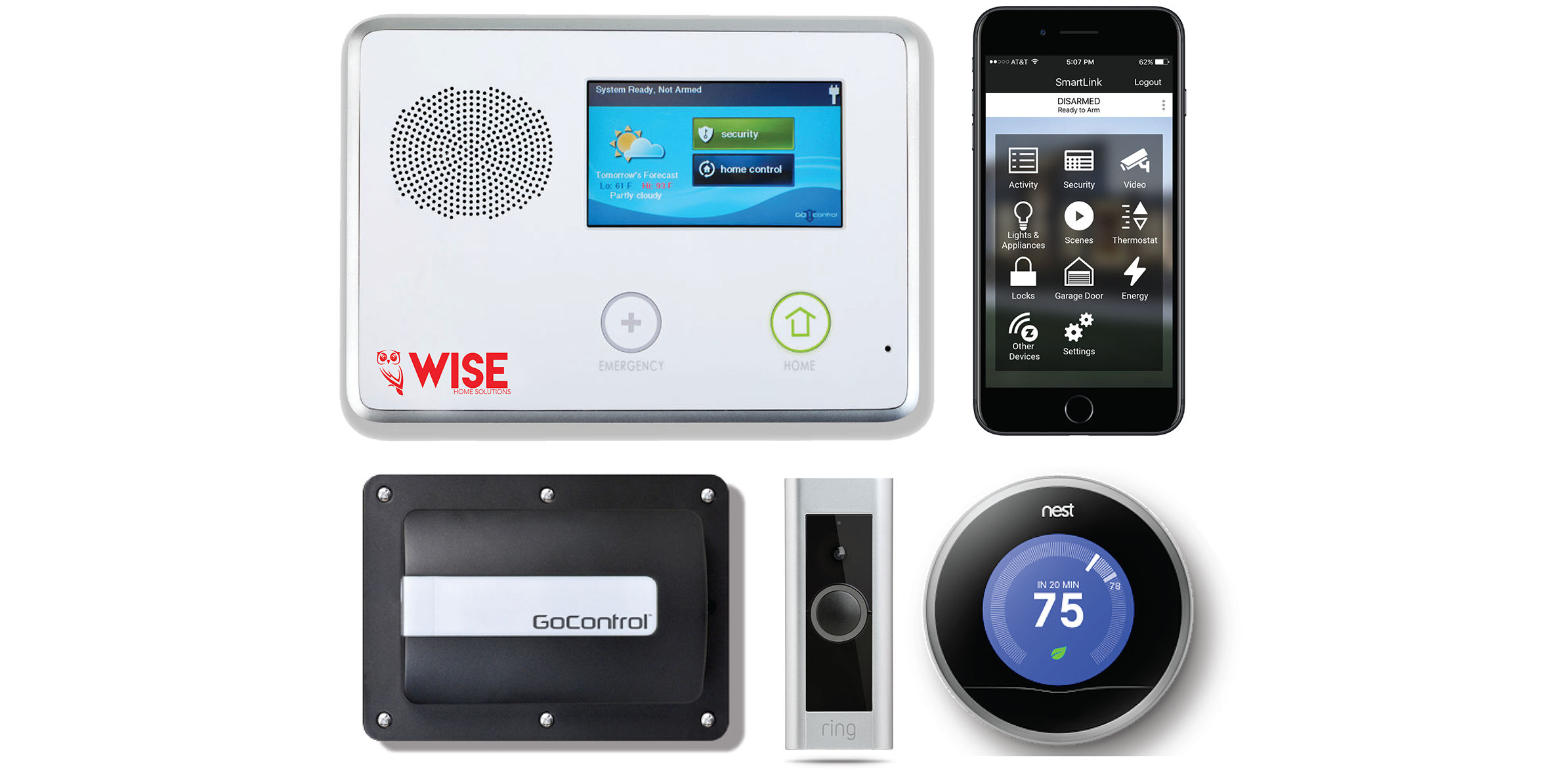 Wise Home Solutions Your Home Security And Automation Company