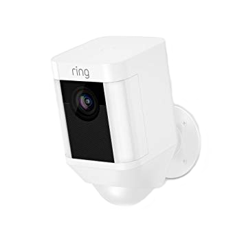Ring Exterior Security Camera Spotlight