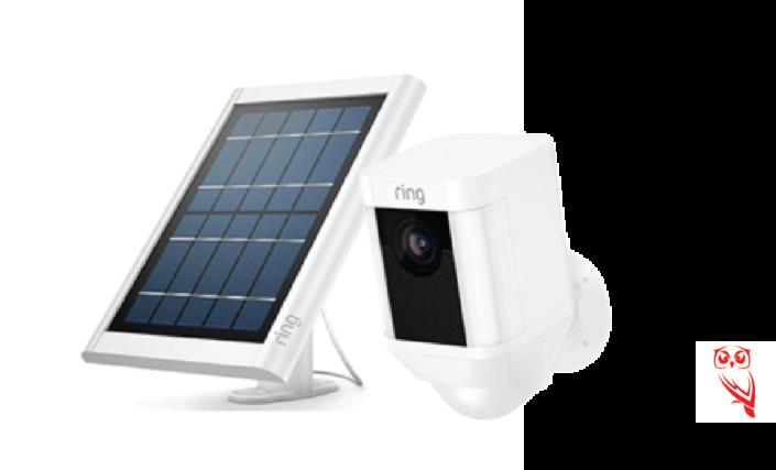 ring solar panel and spotlight cam