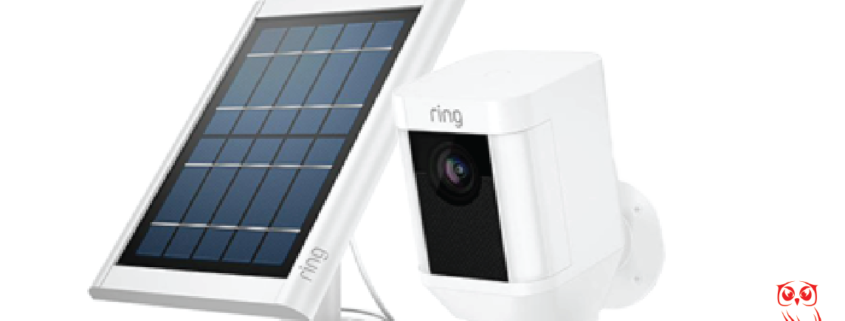 ring solar panel and spotlight cam